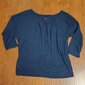 LOFT 3/4 Sleeve Tee, Large